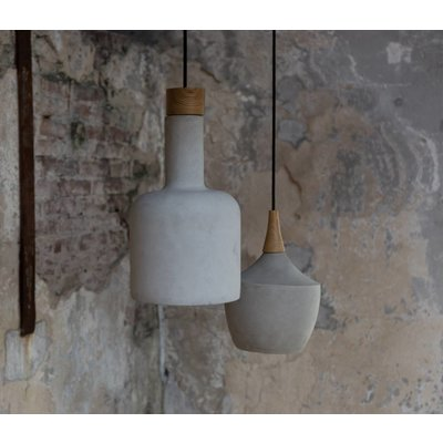 Hanglamp Cradle bottle beton