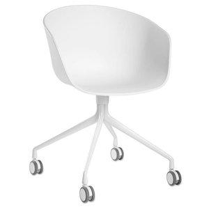 Zuiver Desk Chair Kuip White