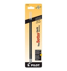 PILOT PIL77221- PILOT MEDIUM POINT PEN REFILL BLACK