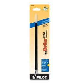 PILOT PIL77222- PILOT MEDIUM POINT PEN REFILL BLUE