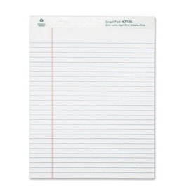 BUSINESS SOURCE BSN63108- PAD;LEGAL;LTR; 12CT;WE