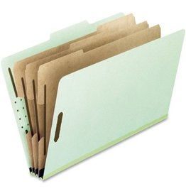 PACON PFX17174- 3 DIVIDER CLASSIFICATION FOLDER GRN