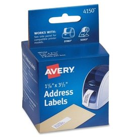 Avery AVE4150- AVERY LABEL PRINTER LABELS WHITE