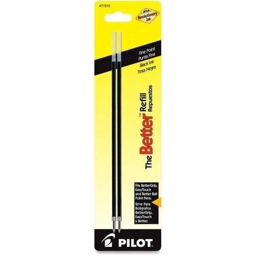 PILOT PIL77215- PILOT FINE POINT PEN REFILL BLACK