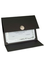 FST83566- BLACK CERTIFICATE HOLDERS