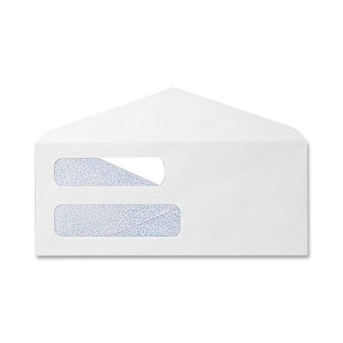"""SPR09272- BOX OF 500, 8 5/8"""" DOUBLE WINDOW SECURITY CHECK ENVELOPES"""