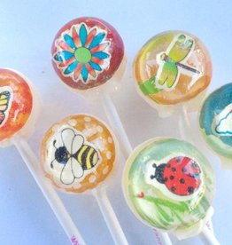 3D First Day of Spring Lollipops