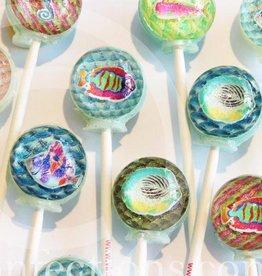 3D Deep Blue Sea Aquarium Lollipops