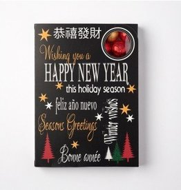 Sweeting Cards - English Xmas & New Year