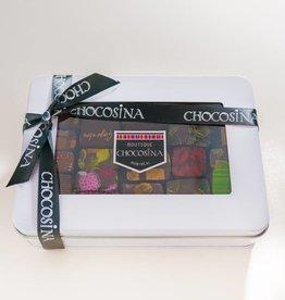 Chocosina Boite-cadeau Ganaches Artisanales 25 pc