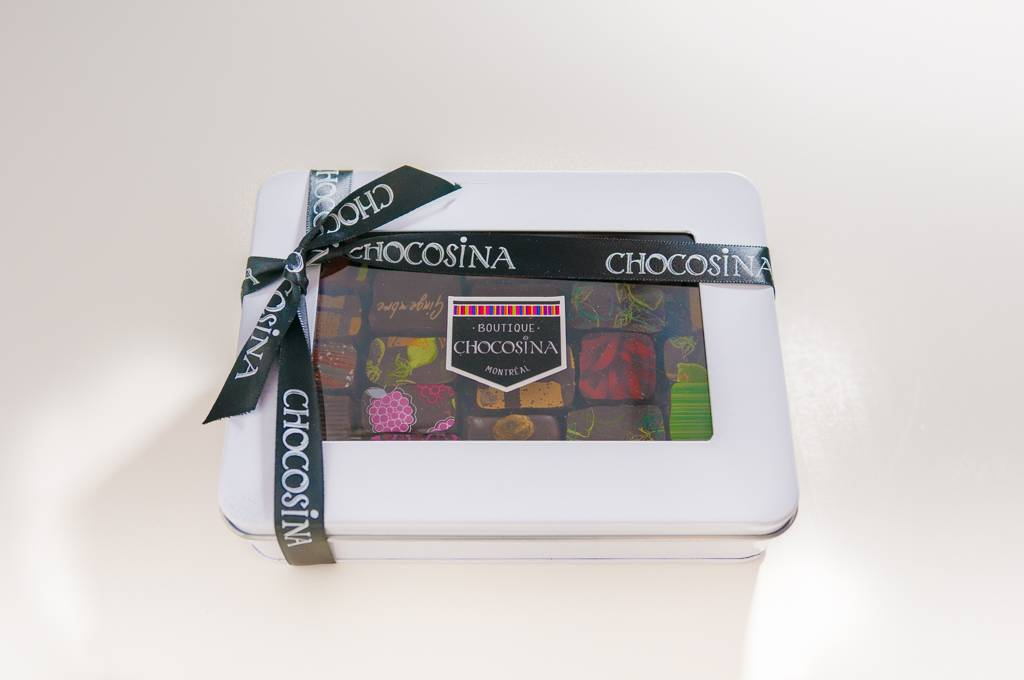 Chocosina Artisanal Ganaches 25pc Gift Box
