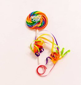 Whirly Pop suçons spirales Arc-en-ciel 3""