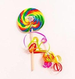 "Whirly Pop suçons spirales Arc-en-ciel 4"""