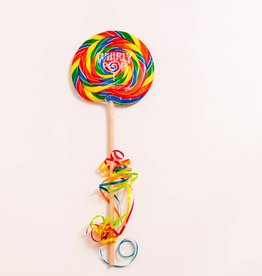 "Whirly Pops Rainbow 6 1/2"" 10oz"