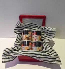 Chocolate Fruity Happy Guimmy Gift Basket (4x200)