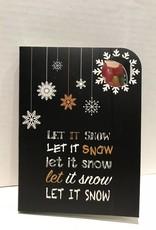 Sweeting Card - Xmas Let it Snow (SRXMU14)