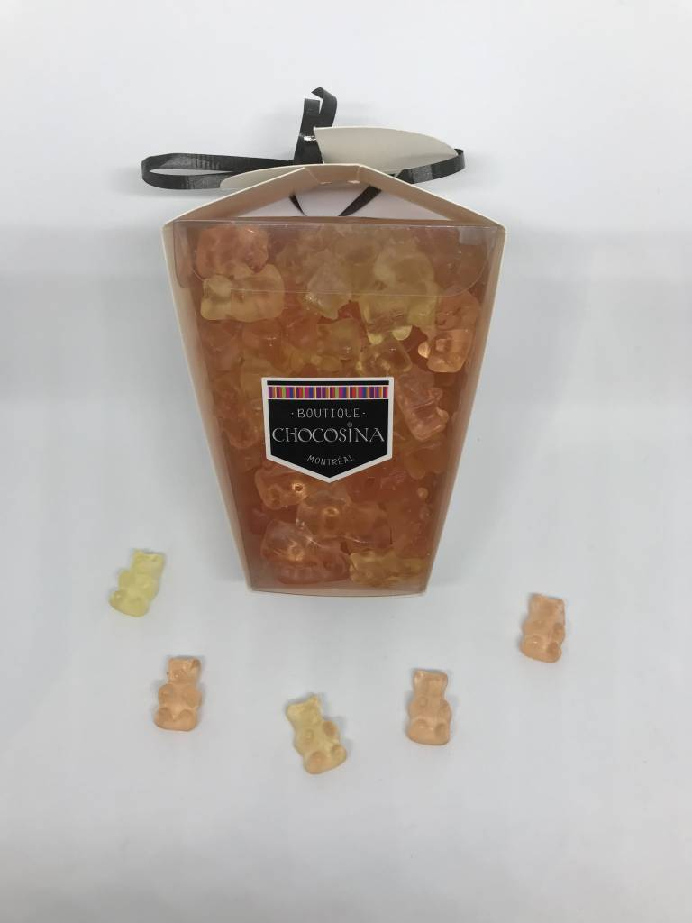 Oursons gommeux Prosecco Boite Cocktail 500g