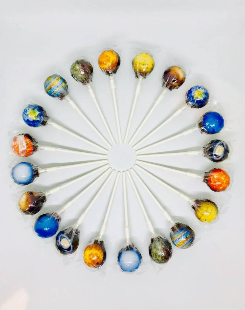 Planet Galaxy 3D Lollies