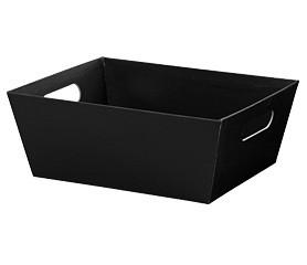 Black Gift Basket