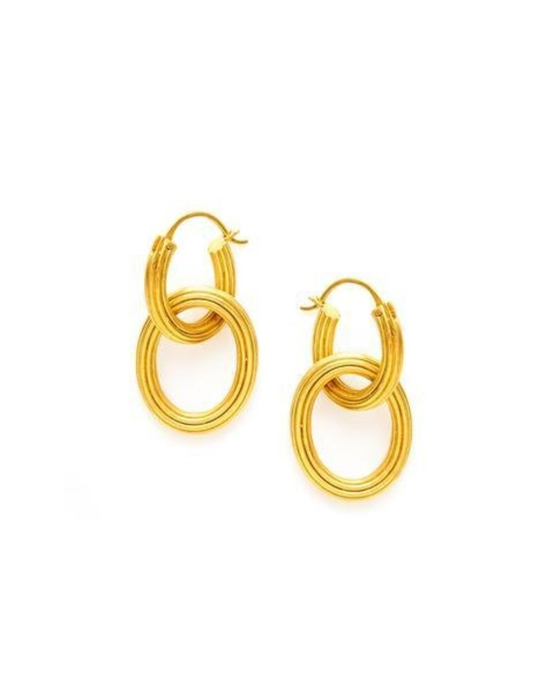Julie Vos Byzantine 2-in-1 Earring