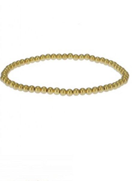 3MM Plain Gold Filled Stack Bracelets