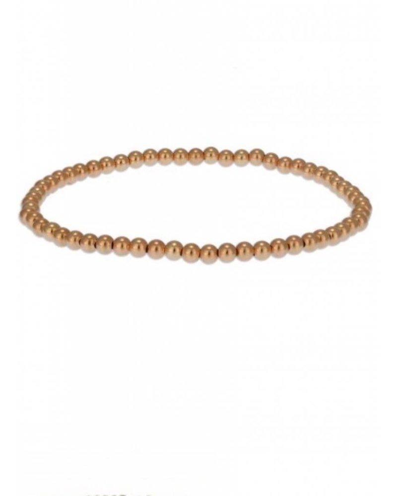 3MM Plain Gold Filled Stack Bracelets