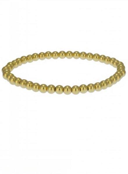 4MM Gold Filled Plain Bracelet