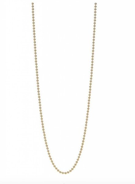 Asha by ADM 14K Vermeil Beaded Chain 30 Inches
