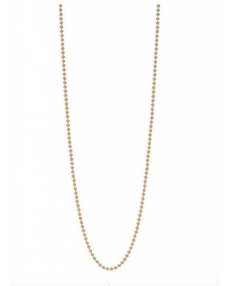 Asha by ADM 14K Vermeil Beaded Chain 30 Inches