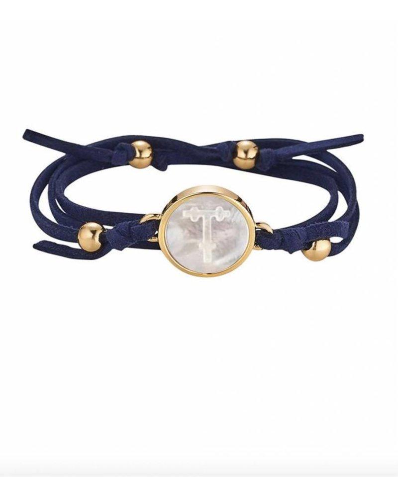 Asha by ADM Suede Wrap Bracelet
