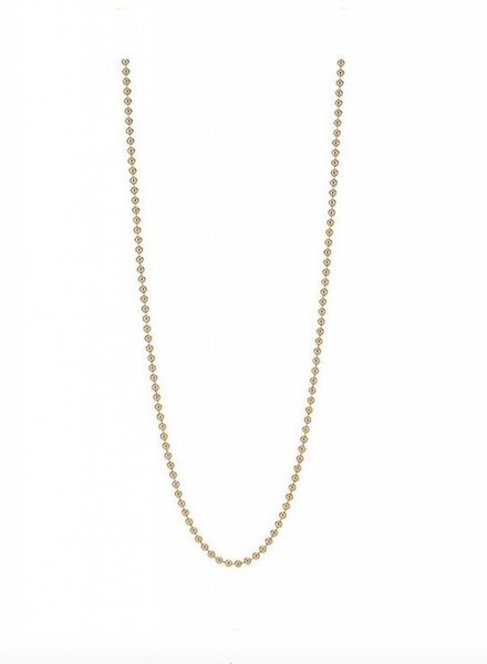 Asha by ADM 14K Vermeil Beaded Chain 18 Inches