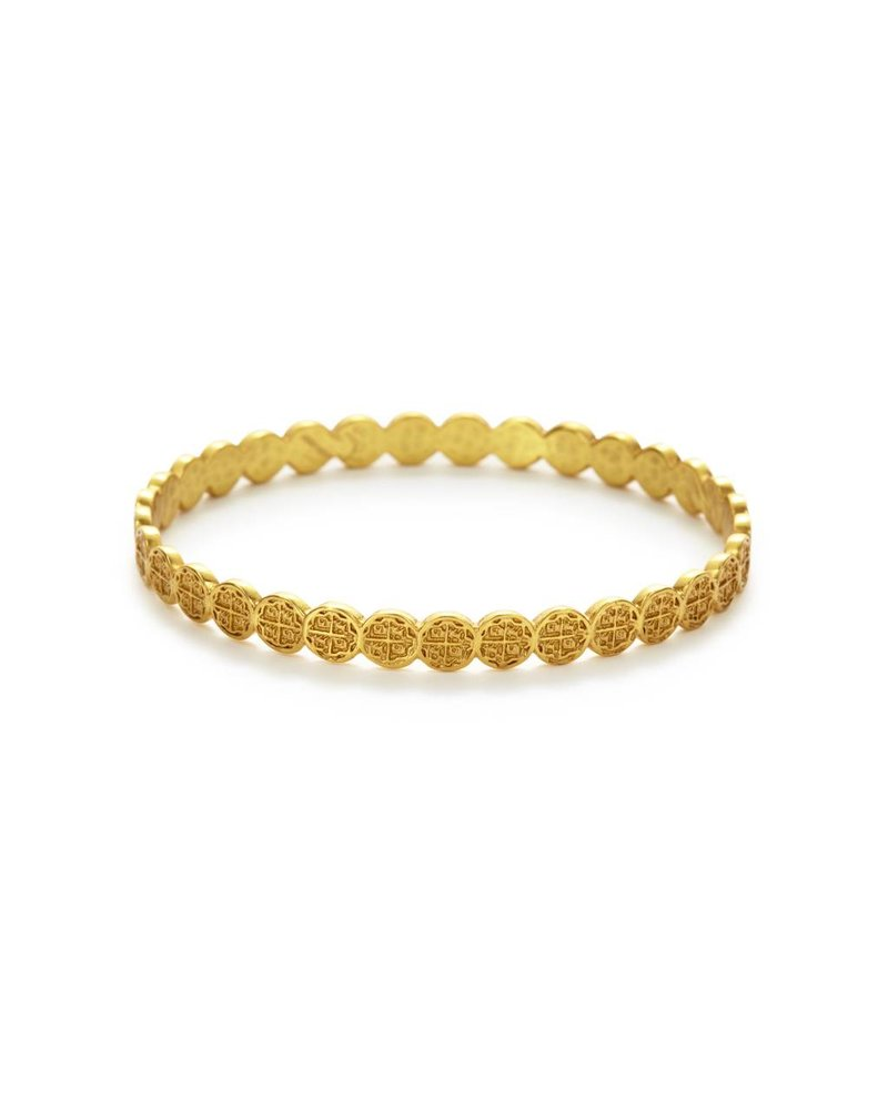 Julie Vos Valencia Stacking Gold Bangle