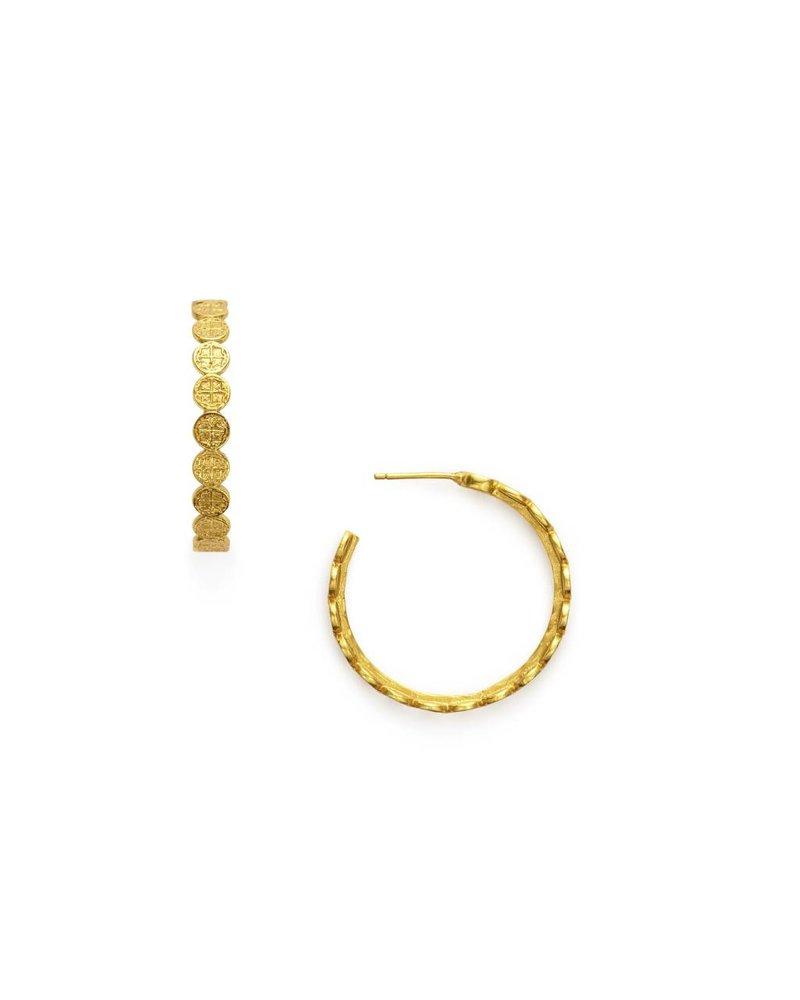 Julie Vos Med Valencia Gold Hoop