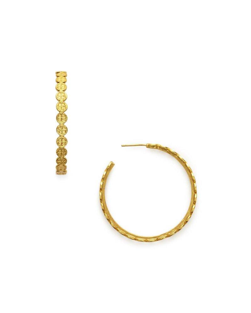 Julie Vos Lg Valencia Gold Hoop