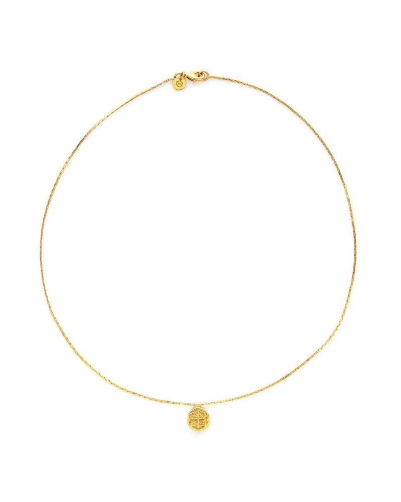 Julie Vos Valencia Delicate Necklace - Gold