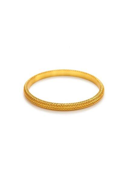 Julie Vos Baroque Gold Bangle