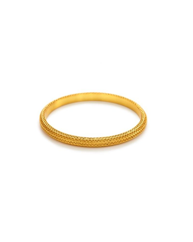 Julie Vos Baroque Gold Bangle