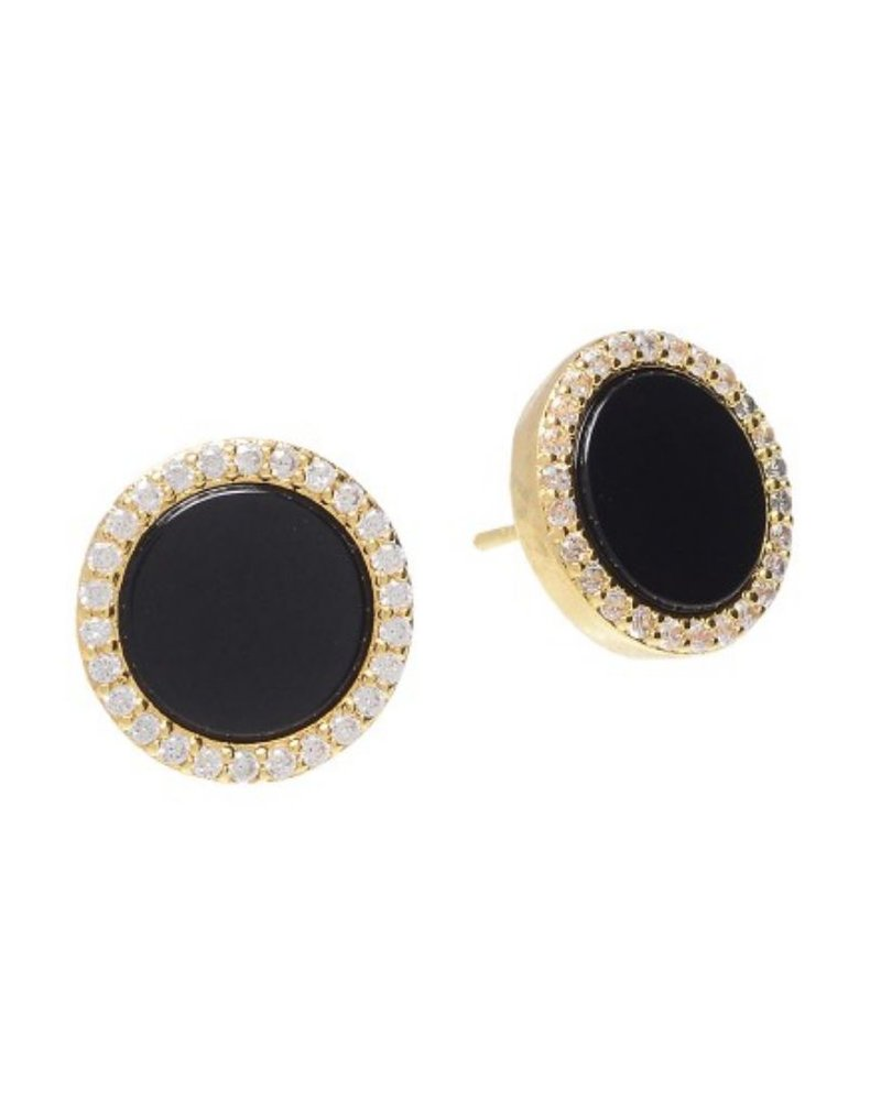NYLA Star Romie Large Round Earring