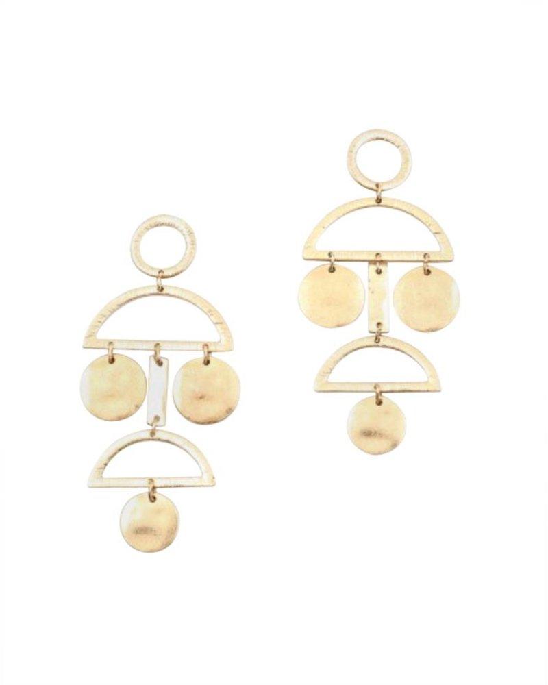 Palmer Jewelry Alexa Chandelier Earring