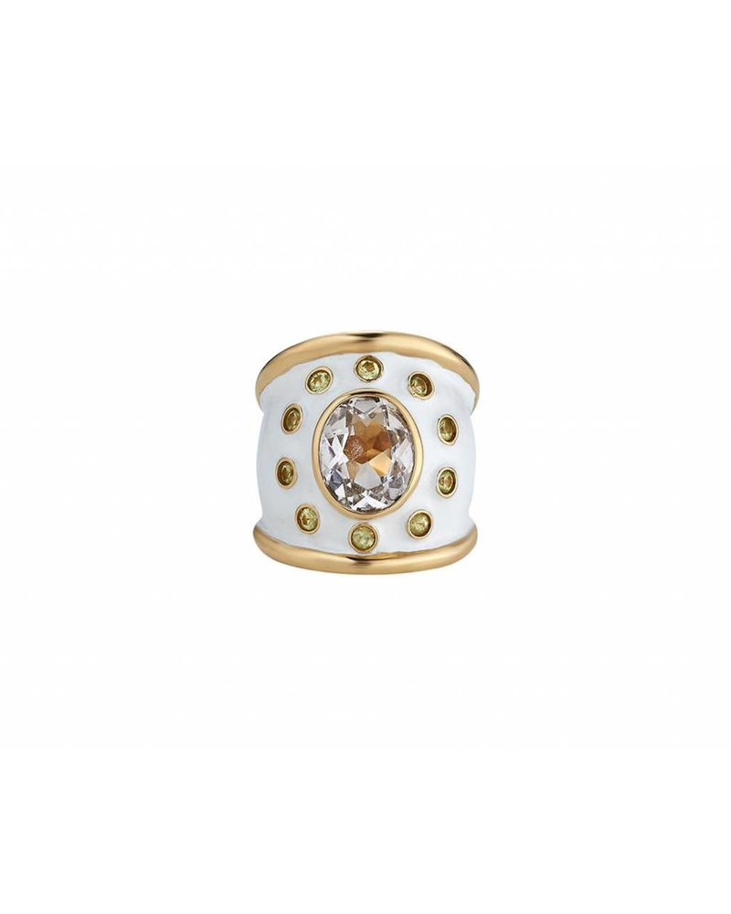 Asha by ADM Cigar Band Ring