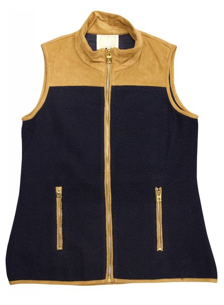 SAIL TO SABLE Suede Vest