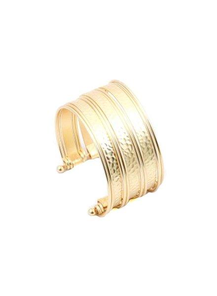 Palmer Jewelry Scrolls Cuff