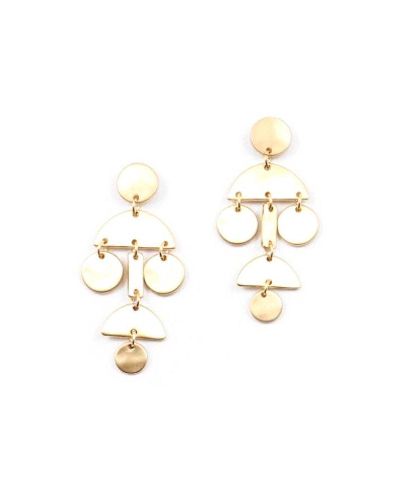 Palmer Jewelry Twister Earring