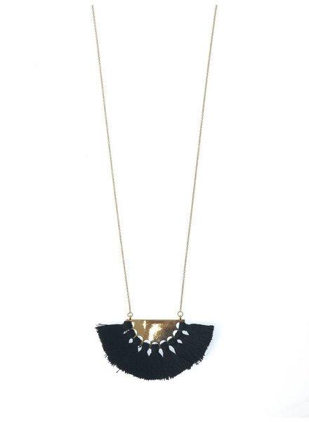 Palmer Jewelry Fan Necklace