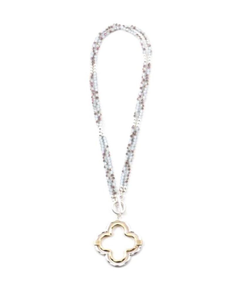 Palmer Jewelry Double Your Luck Necklace