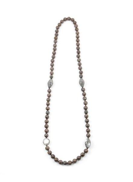 Palmer Jewelry Stone Throne Necklace