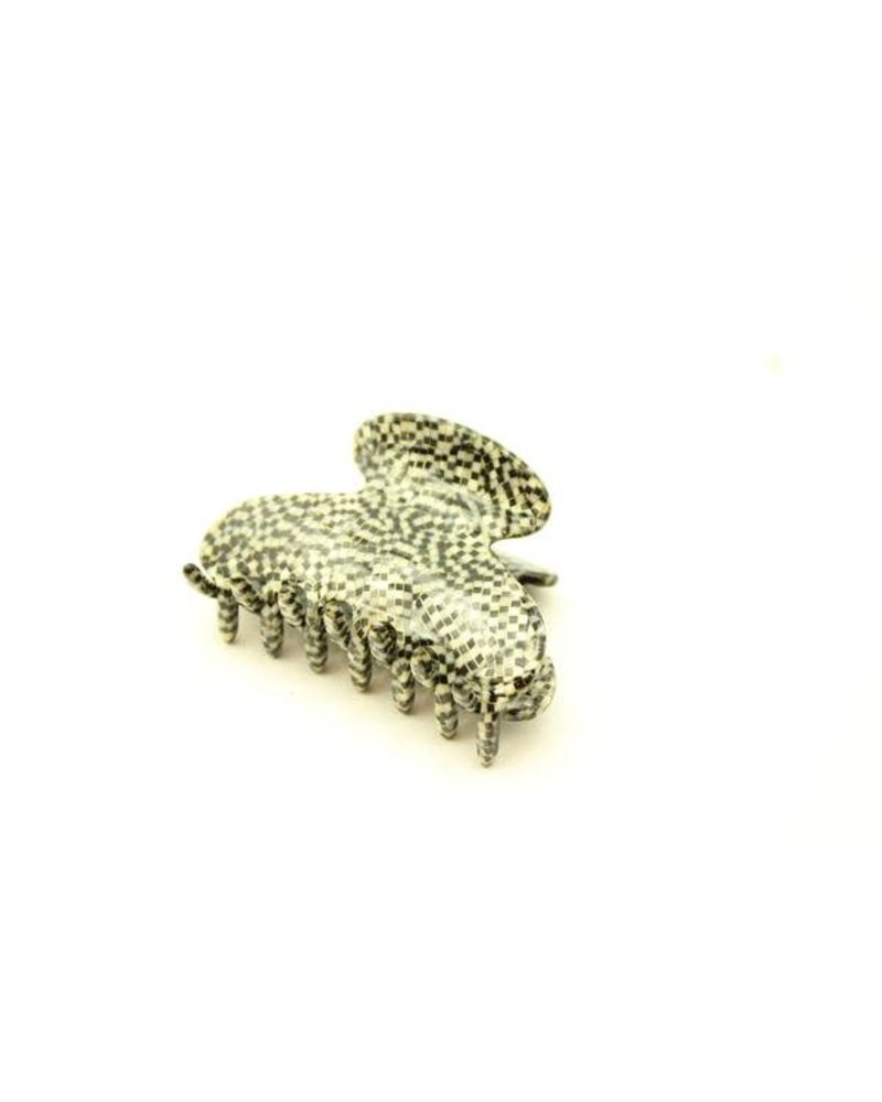 MEDUSA'S HEIRLOOMS Small French Jaw Clip Grey