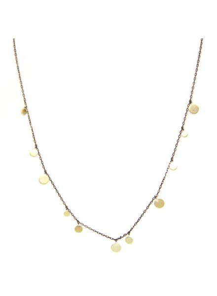 Palmer Jewelry Two Tones Necklace