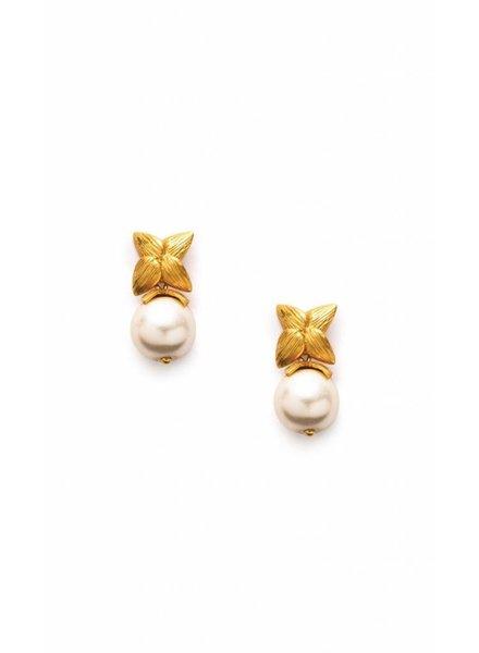 Julie Vos Penelope Cap & Post  Earring