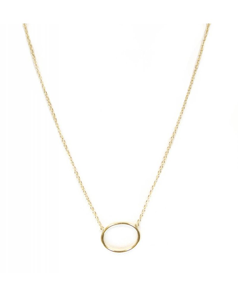 Palmer Jewelry Oval Necklace
